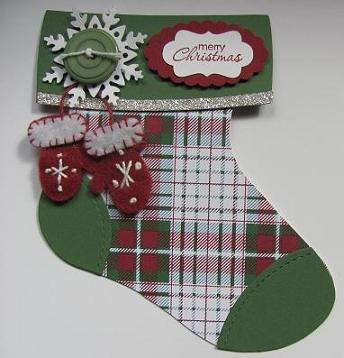 Holiday Stocking Bigz Die 001