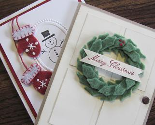 Stitched Felt Christmas SAS