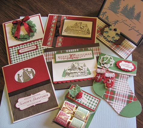 Frostwood Lodge Cards and favor