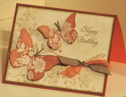 Beautiful Butterflies Leadership card