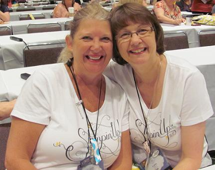Debi and I Convention 2012