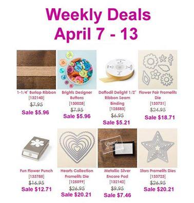 Weekly deal 4-7