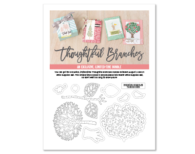 Thoughtful Branches flyer