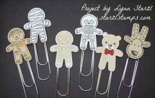 Cookie Cutter paper clips