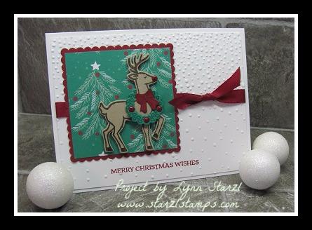 Santa's Sleigh Deer