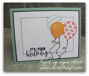 Balloon Adventures Faux Frame