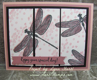 Dragonfly Dreams panel card