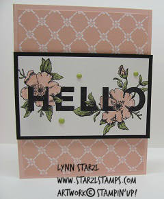 Floral Statements Hello Powder Pink