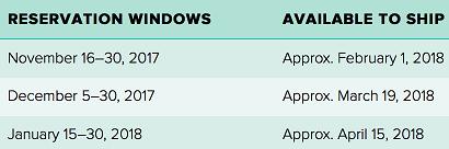 Stamparatus Reservations windows