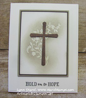 Hold on to Hope Embossed