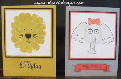 Playful Pals cards