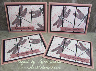 Dragonfly Dreams 3 panel