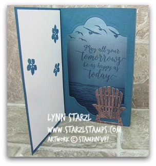 Shadowbox Card Colorful Seasons Inside