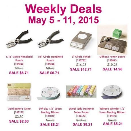 Weekly deals May 5