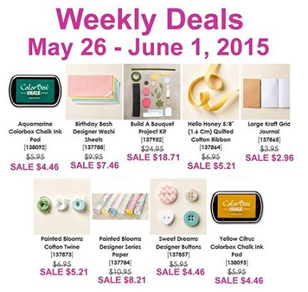 Weekly Deals May 26