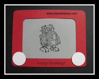 Robot etch a sketch