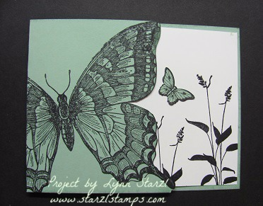Swallowtail Mint Macaron