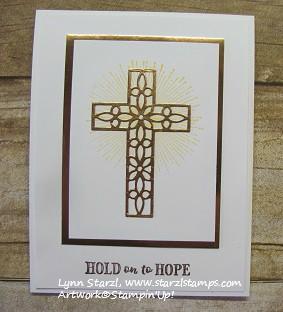 Hold On To Hope Stamp Set Cross Of Hope Framelits Dies