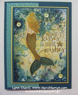 Magical Mermaid Brusho 2