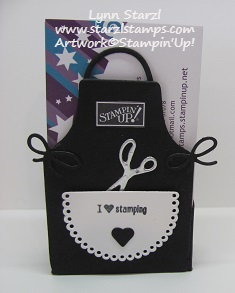 Apron of Love Business Card Holder