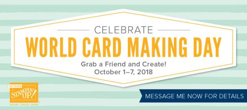 World Card Making Day shareable
