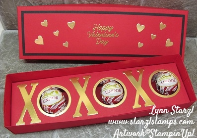 Valentine Box open