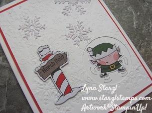 Signs of Santa snow angels