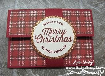Gift Card Holder Farmhouse Christmas