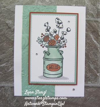 Country Home Swap Card