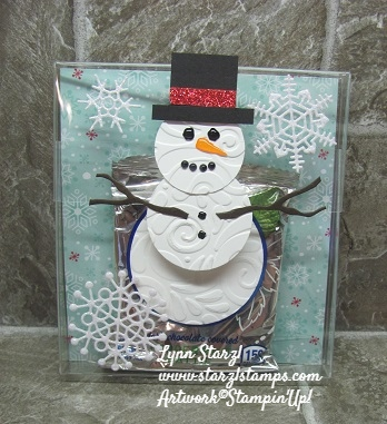 On Stage Snowman gift