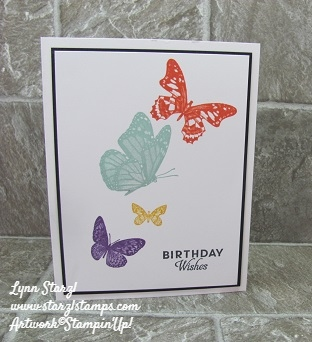 Butterfly Wishes Simple Stamping