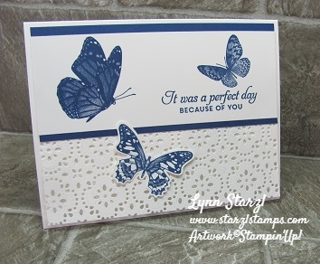 Butterfly Wishes Stitched Lace