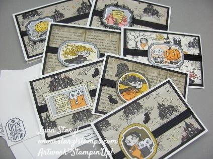 Spooktacular Bash Halloween cards