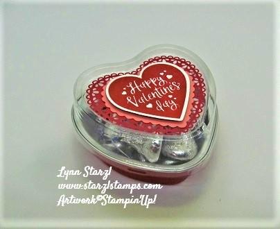 Heart Foil Tin