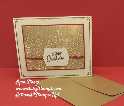 Evergreen Embossing Folder