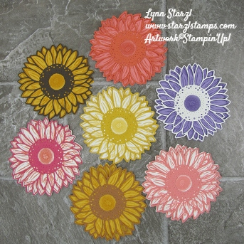 Celebrate Sunflowers color combos