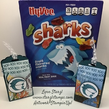 Shark Frenzy Treat favors 2