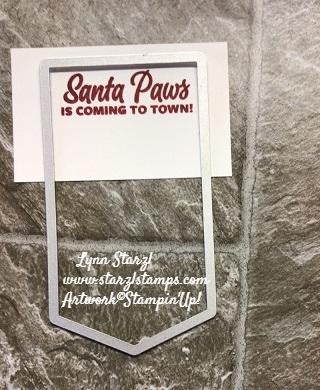 Santa Paws top