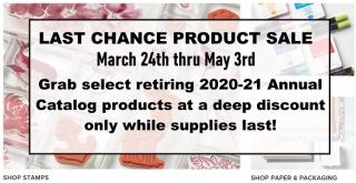 Last Chance Sale graphic