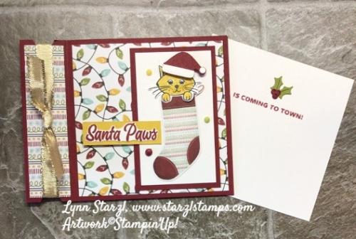 Sweet Little Stockings fun fold