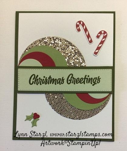 Sweet Little Stockings Swirl Card
